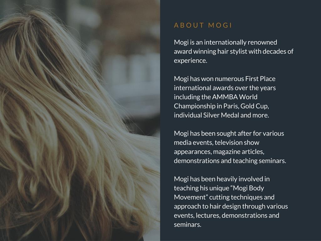 Mogi Hair education
